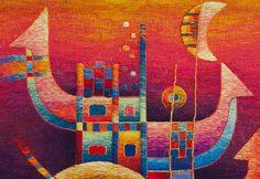 TAFA: The Textile and Fiber Art List | Maximo Laura Tapestries