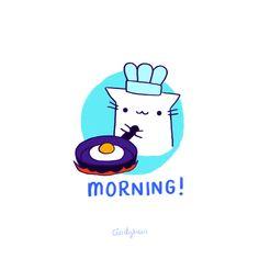 "Cindy Suen:  ""Morning!"""