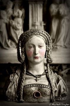 Reliquary Bust of Saint Balbina, ca. 1520–30 (The Cloisters, NYC)