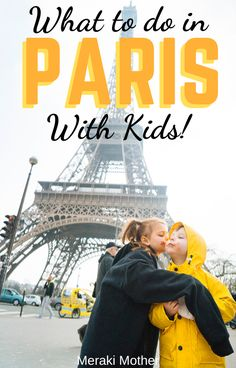All of the very best things to do in Paris when traveling with kids! From doing the Louvre with kids in tow, to the best tips for families seeing the Eiffel Tower and more. Best Family Vacation Spots, Family Vacation Destinations, Travel Destinations, Family Trips, Vacation Ideas, Paris Travel Tips, Europe Travel Tips, Travel Usa, Travel Hacks