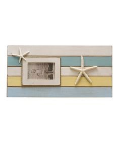 Look what I found on #zulily! Color Block Starfish Frame by Primitives by Kathy #zulilyfinds