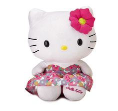 Hello Kitty! - Hello Kitty Plush Doll in a Floral Dress