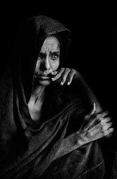 Blinde Tuareg-Frau in Mali im Jahr 1985: Wim Wenders sagt, in diesem Bild hat...