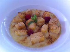 Piña en salsa de crema, #RestauranteBruno