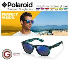 Occhiali Polaroid 2014 su OcchialiGraduati.com  OCCHIALI POLARIZZATI POLAROID PER UN PERFETTO COMFORT ED UNA PERFETTA VISIONE NITIDA..  #shopping #eyewear #ss2014 #summer #occhialidasole #glassesonline #occhiali #estate #polaroid