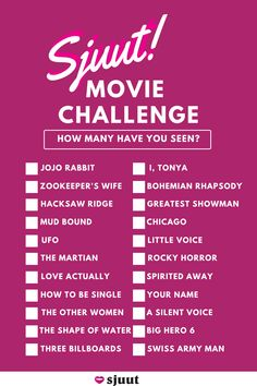 We recommended it, now we want to know which ones you've seen. Hacksaw Ridge, How To Be Single, The Shape Of Water, Love Actually, Spirited Away, Rocky Horror, Being Good, Have You Seen, The Martian