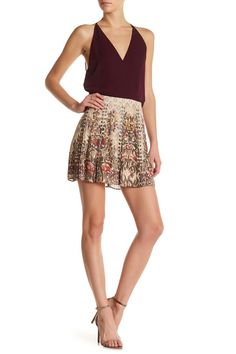ef6c7878ec389 Haute Hippie Sagat Silk Skirt Dresses For Less