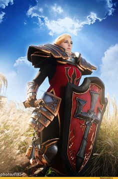 Heroes of the Storm,Blizzard,Blizzard Entertainment,фэндомы,cosplay,Johanna,Glamazonian Rage