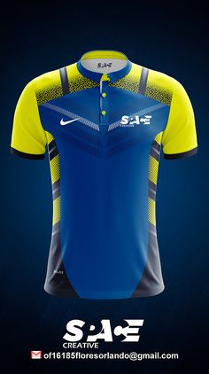 Sport Shirt Design, Sports Jersey Design, Sport T Shirt, Team Wear, Sport Wear, Sports Polo Shirts, T Shirt Painting, Textile Design, Wetsuit
