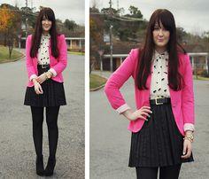 Pink Obsessed (by Emma Lee) http://lookbook.nu/look/3571295-Pink-Obsessed