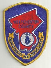 WESTCHESTER COUNTY NEW YORK DEPARTMENT OF PUBLIC SAFETY PATCH