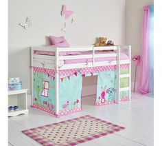 Buy HOME Creature Friends Tent for Single Mid Sleeper Bed Frame at Argos.co.uk, visit Argos.co.uk to shop online for Children's beds, Children's furniture, Home and garden
