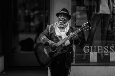 Musiker am Basler Marktplatz Music Instruments, Black White Photography, Musicians, Musical Instruments