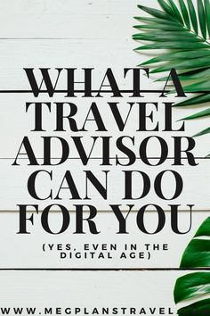 Find out why so many people are choosing to book through a Travel Advisor. Not only can they get you the most value from your vacation, they are specially trained in destinations, properties, and resorts so they can help you narrow down and decide the perfect spot for your next vacation. (NOT TO MENTION - with COVID19 you don't want to be the one on hold with Expedia for 6 hours if you need to change plans).  Your travel advisor will have your best interest in mind. Travel Advisor, Trip Advisor, Travel Goals, Travel Hacks, Travel With Kids, Family Travel, Disney World Packing, European Travel Tips, Disney World Tips And Tricks
