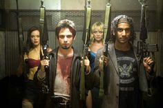 Lets get ready to rumble. 'Planet Terror'