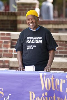 Stand Against Racism at YWCA Asheville, N.C., April 27, 2012