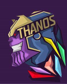 Thanos ... !!! - Visit to grab an amazing super hero shirt now on sale! http://amzn.to/2rW94YB