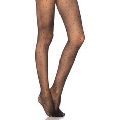 Pretty Polly Pinspot Tights (27,860 KRW) ❤ liked on Polyvore featuring intimates, hosiery, tights, socks/tights, dot tights, polka dot hosiery, elastic stocking, dotted stockings and pretty polly hosiery