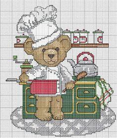 Urso cozinheiro