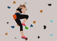 Climbing is a fantastic all over body workout that works all your muscles. Great for developing strength in your core, legs and arms. Here are some good tips for those just starting out.