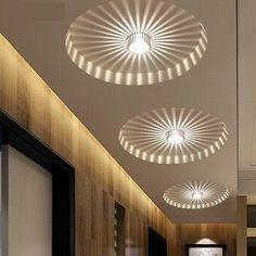 3W Aluminum LED Ceiling Fixture Pendant Lamp Lighting Chandelier Corridor Light   eBay