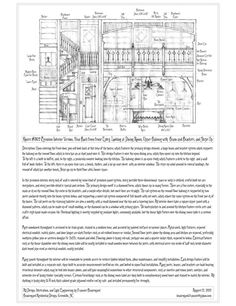 Latest version of House Plan #326, with the perspective portrait on top and all the plans I have for it thus far. All pencil drawings done by hand as usual, scanned, cleaned up and arranged with so...