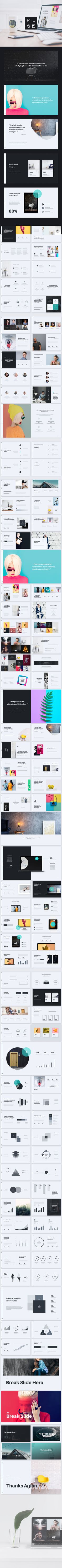 Kloe multipurpose & minimal keynote template