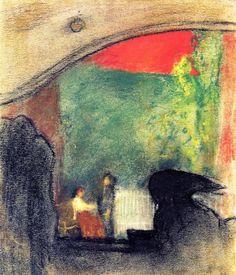 Edouard Vuillard - Scene from a Play by Ibsen