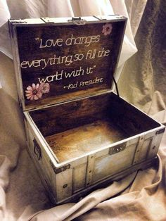 "Decorative Keepsake Box Love Changes Everything So Fill The World With It"" Kid President"