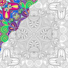 Coloring Pages Astounding Free Color By Number For Adults Difficult