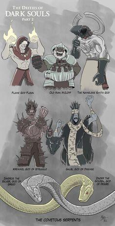 Deities of Dark Souls Part 2