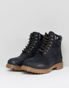 Red Tape Worker Boots Black - Black