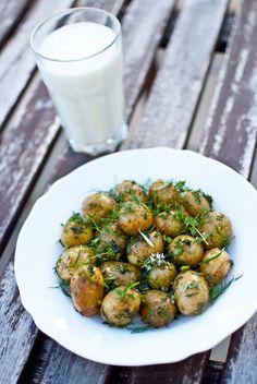 Just Great Food: Ziołowe ziemniaczki
