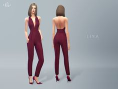 #Sims4 | Starlord's Liya jumpsuit