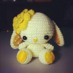 sweet little bunny #amigurumi