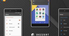 Dezzert CM13 Theme v1.2.apk Free Download