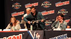Haven Cast Sings @ New York Comic Con 2013 #Haven_SYFY best video I have ever watched!