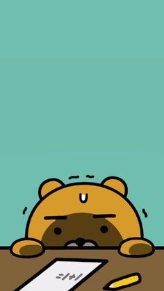 pinterest:pelin çalışkan K Wallpaper, Friends Wallpaper, Cartoon Wallpaper, Wallpaper Backgrounds, Cute Wallpapers, Iphone Wallpapers, Kakao Friends, Kakao Ryan, Diabetic Dog