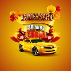 Comercial Coroa 30rd years on Behance