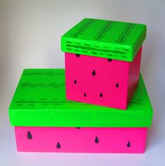Cajitas sandía pintadas a mano (Consultar medidas) K Crafts, Arts And Crafts, Wallpaper Nature Flowers, Diy Storage Boxes, Altered Boxes, Painted Boxes, Diy Box, Summer Diy, Porch Decorating