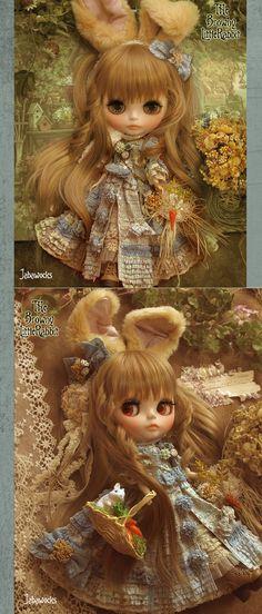 カスタムブライスギャラリー「Stella~幻灯星姫~」ブライスアウトフィット&カスタムブライスの【ジャバウォックス】