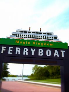 Ferryboat at Magic Kingdom
