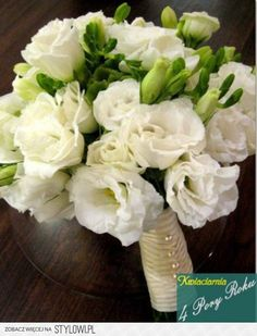 wedding flowers - eustoma