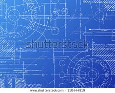 13 best blueprint images on pinterest building construction and grungy technical blueprint illustration on blue background stock photo malvernweather Images