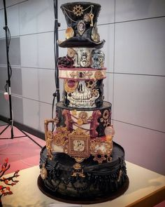 A lot of Steampunk Tendencies in this cake! ^^ Amazing!