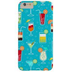 Cocktails Electronics, Cocktails Gadgets. Cocktail Pattern Phone Case.