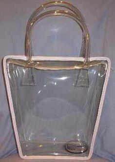 Standard stadium clear vinyl bags