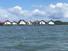 Muslim village in sea, phuket, thailand