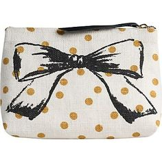 Bow Cosmetic Pouch