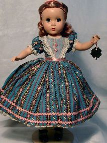 Madame Alexander Beth from Little Women Series - Bayberry's Antique Dolls #dollshopsunited